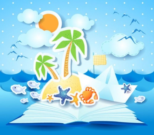 verano-en-la-playa-de-fondo-vector-de-material_34-56868